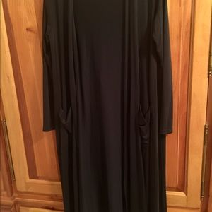 Lula Roe navy duster size Small